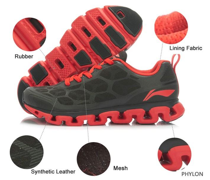 Li-Ning Men Running Shoes Light Mesh Breathable Cushioning Li-ning Arch Techonology Sneakers Sport Shoes ARHJ049 XYP039 5