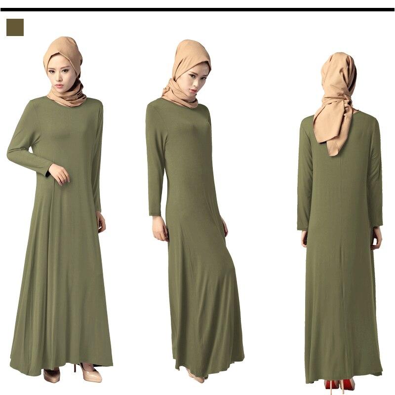 Bubble Tea 2017 muslimanska haljina Žene islamske Dubai Arapska - Nacionalna odjeća - Foto 2