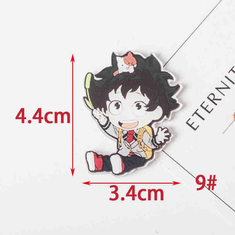 1 PCS Il Mio Hero JL Mondo Accademico Del Fumetto Icone sul Spille Kawaii Icona Distintivo Bacges su Zaino Distintivi e Simboli per Abbigliamento acrilico Distintivi e Simboli Z60
