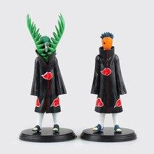 2 Pcs/Set Anime Naruto Uchiha Madara Action Figure PVC Akatsuki Figure Collection Model 17 CM Brinquedos Toys For Child Kids Boy
