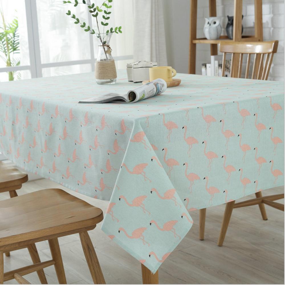 Flamingo tischdecke frische cartoon qualität polyester baumwolle ...