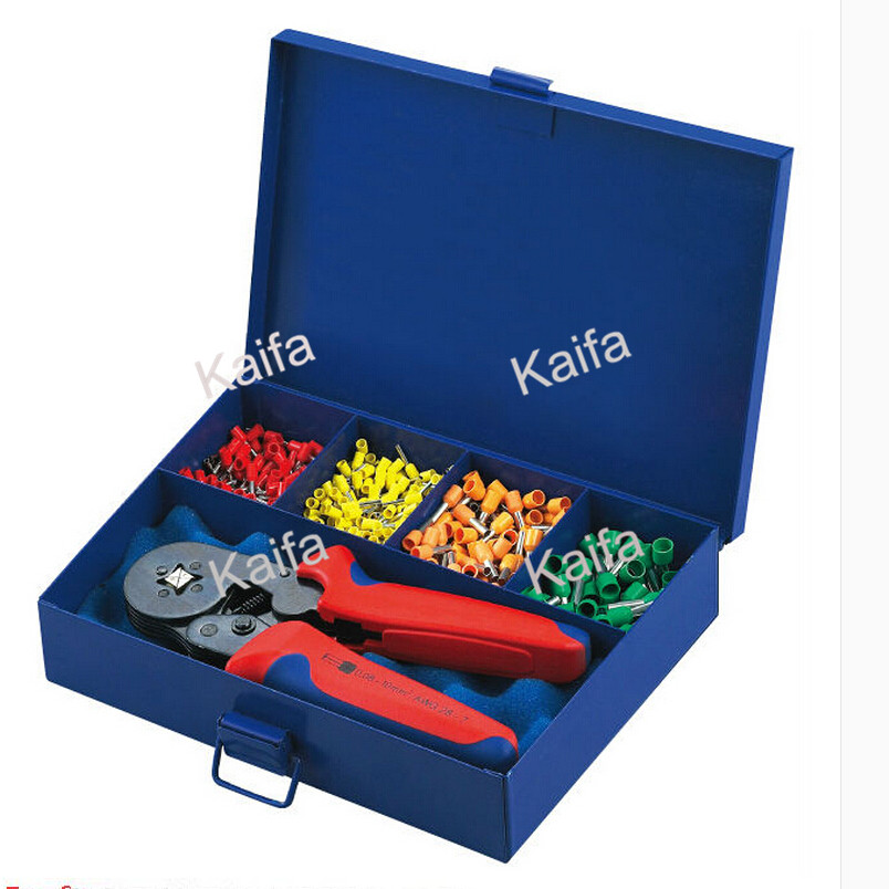 ФОТО HSC86-4AD Combination cable crimping tool in metal box
