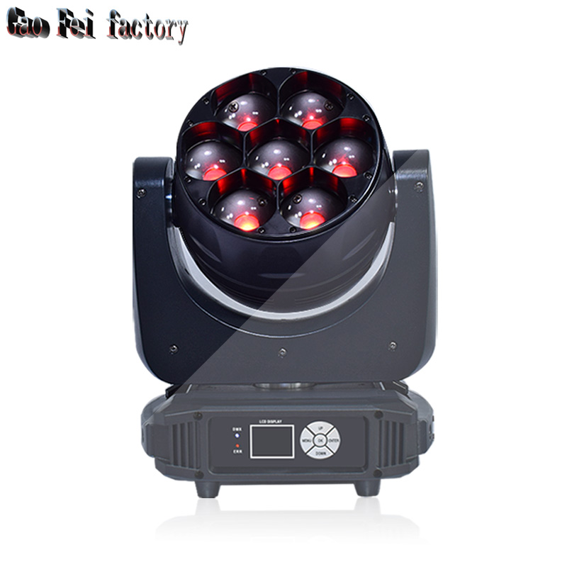 led stage lights disco DJ of professional led moving head 7X40W RGBW 4IN1 stage lightingled stage lights disco DJ of professional led moving head 7X40W RGBW 4IN1 stage lighting