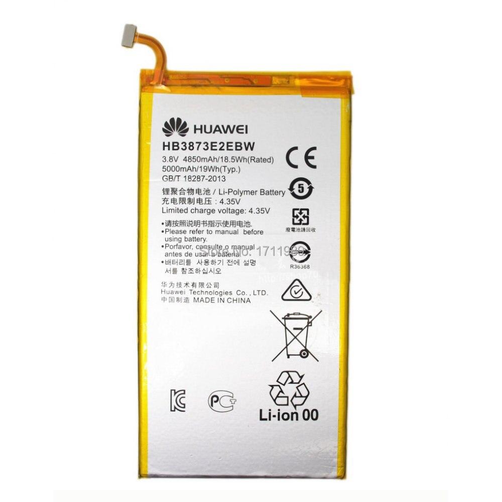 4850mAh HB3873E2EBC Rechargeable Battery For HUAWEI Honor X1 7D 503L 7D 501U 7D 503U Replacement Repair