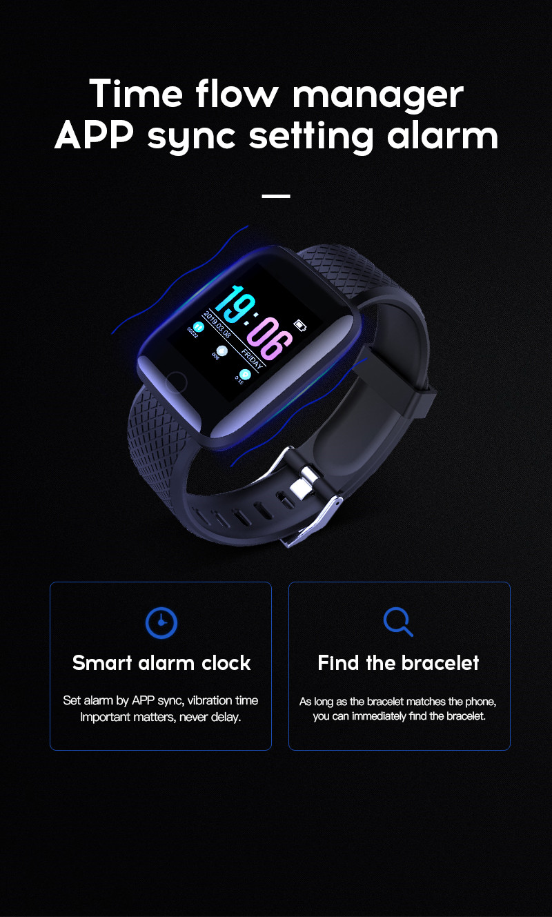Android IOS Smart Watch Heart Rate Monitor