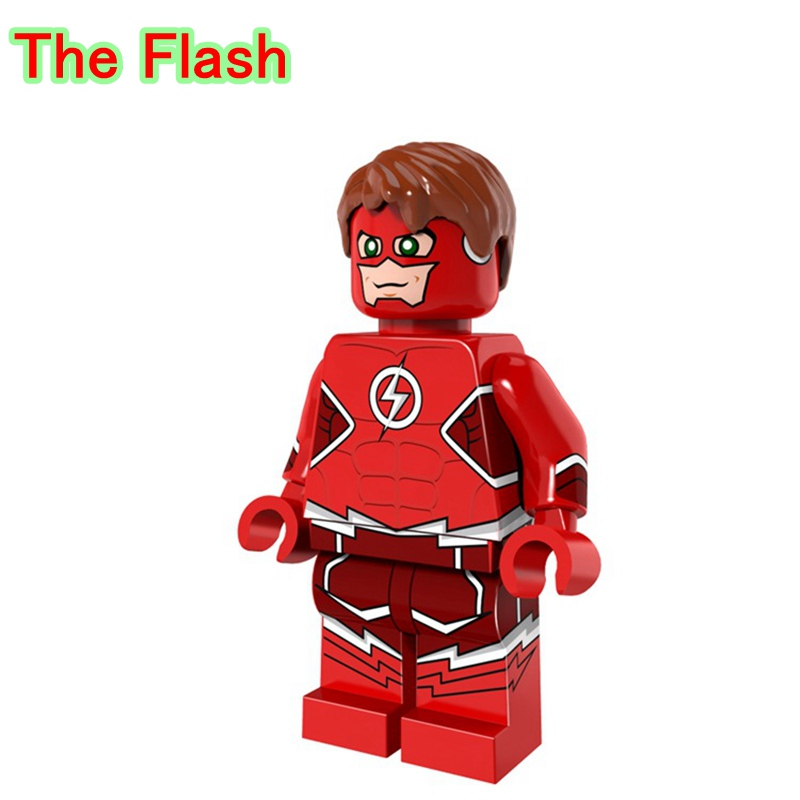 The flash action dolls single legoing dc justice league super heroes speed force building blocks - Flash le super heros ...