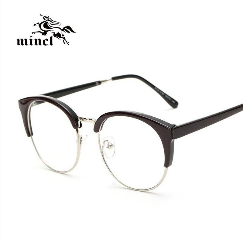 Ladies Metal Frame Glasses : Aliexpress.com : Buy Fashion Half Metal Frame Glasses ...