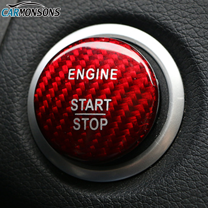 Engine Start Stop Button Sticker Cover for Mercedes Benz A B C GLC CLA GLA ML GL Class W176 W246 W205 W212 C117 X156 Car Styling