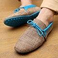 Venda quente Melhor Mens Mocassins Sapatos Casuais Marca de Luxo De Designer Sapatos de condução Para Homens Eqüestre Deslizamento Na Plataforma Penny Barato azul