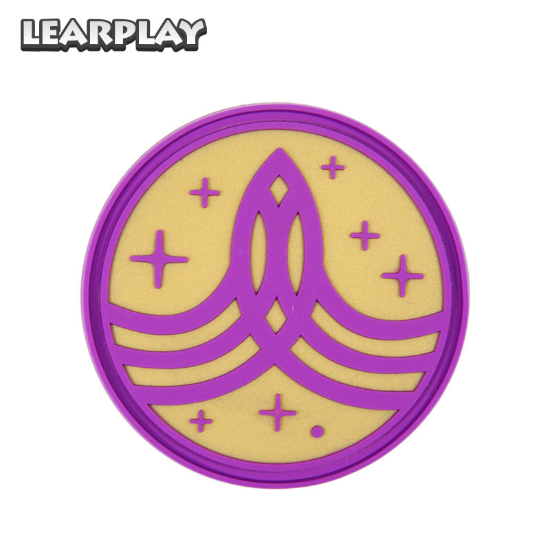 The Orville Planetary Union Commander Badge Cosplay Patch Costumes Accessories Purple Brooch Pins Christmas Halloween Gift