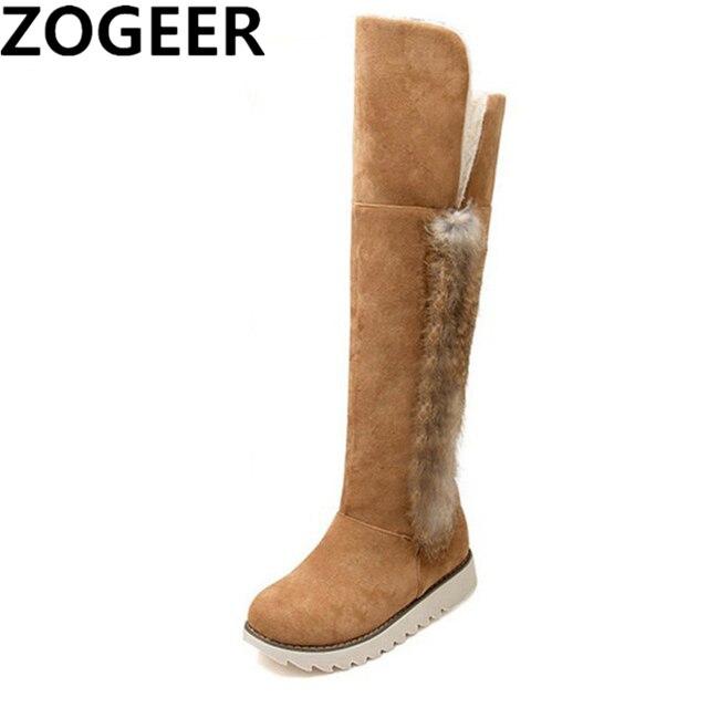 00669b0dd14 Caliente 2019 mujeres botas para la nieve botas invierno de las señoras de  moda de gamuza
