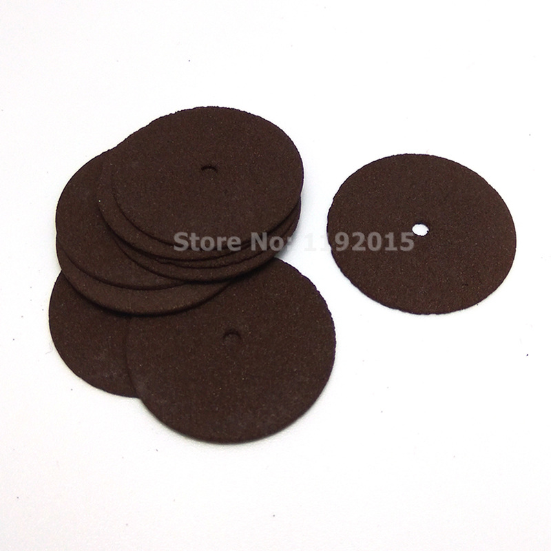 10pcs Dremel Accessories 24mm Abrasive Disc Cutting Discs Reinforced Cut Off Grinding Wheels Rotary Blade Disc Tool Dremel Parts