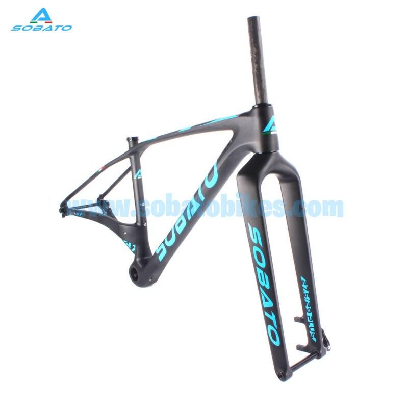Cabon frame MTB mountain bike chinese high quality full carbon fiber frame 27.5er  29er plus large mtb frame for sale giant 26 mountain bike mtb frame atx pro