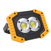 Waterproof Outdoor Emergency Lamp LED Camping USB Rechargeable COB Work Light work light  D25
