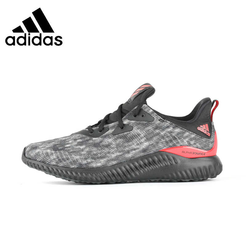 newest 58e47 94dbe ADIDAS Original Alpha Bounce CNY Mens Running Shoes Breathable Stability  Footwear Super Light Sneakers For Men