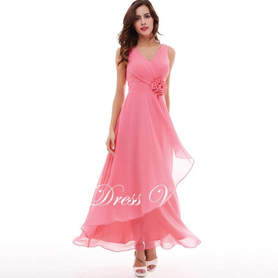 Bonito Rosa Vestidos De Fiesta Barato Inspiración - Colección del ...