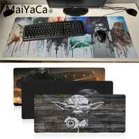 MaiYaCa New Arrivals star war High Speed New Mousepad Large Gaming Mouse Pad Anti-slip Perfect Locking PC Computer desk mat