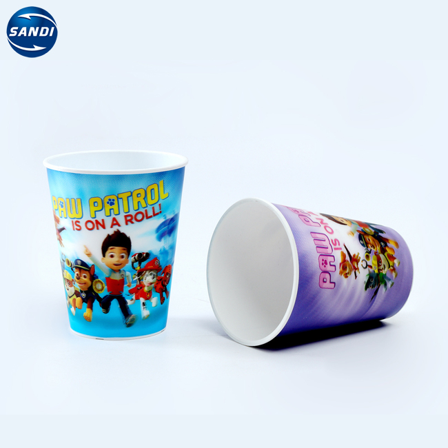 High Quality Custom Printing Cartoon 3d Hologram Cup