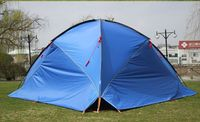 3Walls!Awning tent ultralarge sun shading tentorial beach tent/anti uv marquee account/large flysheet