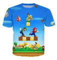 New Fashion men Super Mario 90s kid cartoons  T Shirts Harajuku Shirts Casual 3D T-shirts Hip Hop Man  Top Tee