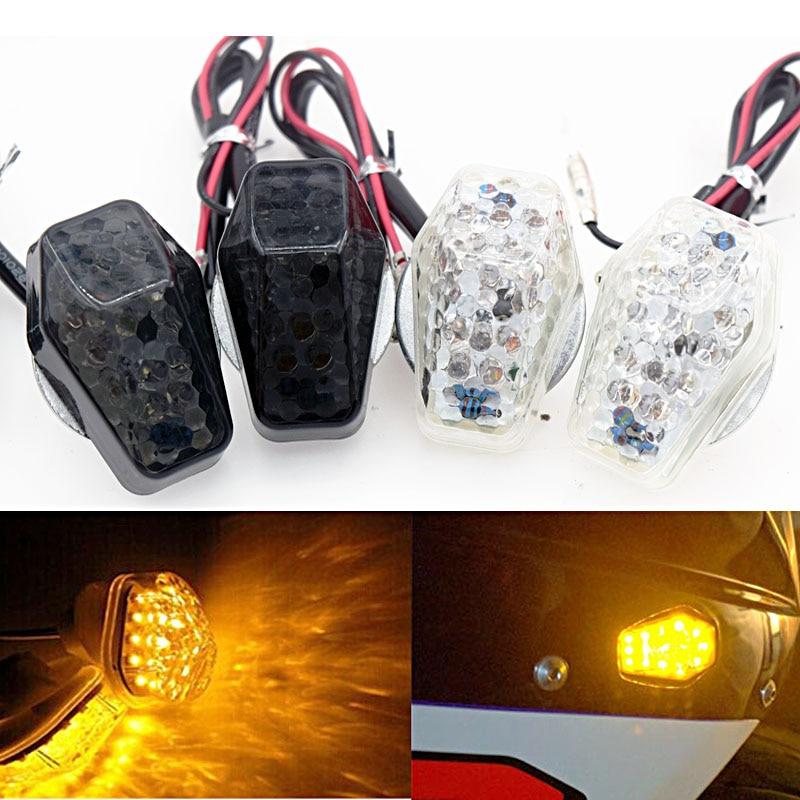 LED Flush Mount Front Turn Signal Light For Suzuki GSXR600 750 SV650 1000 Bandti