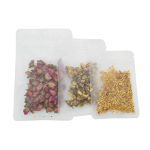 10*15cm Zip Lock Frosted Surface Transparent Plastic Packing Pack Pouches Ziplock Retail Packaging Package Poly Bag For Event