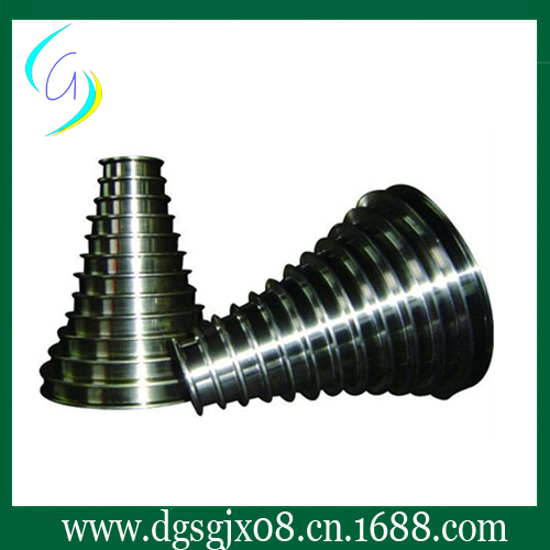 Tungsten carbide coating  Wire Drawing tower pulley /  cone  pulley tungsten carbide steel ring with wire drawing application
