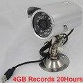 K808 4 ГБ записи 20 h cctv камеры безопасности DVR ПИР-видео камеры записи, intellgent sd-карта видеонаблюдения камера motion detected