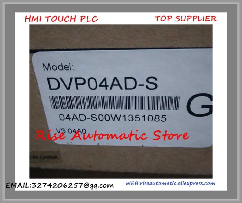 DVP04AD-S PLC 4AI Analog Module New OriginalDVP04AD-S PLC 4AI Analog Module New Original