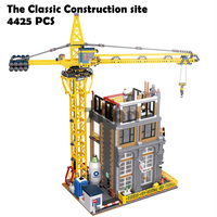 Model building toys hobbies 15031 Compatible With lego City creator Blocks MOC Classic Construction site Educational DIY Bricks
