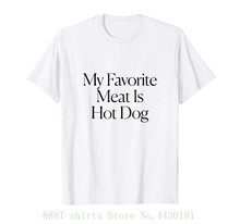 b9242b0989 phiking - My Favorite Meat Is Dog Tee Funny T Shirt Women Hipster Cotton  Casual Tops