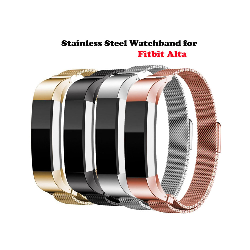 Watch-Band Fit-Bit Closure-Bracelet Milanese-Strap Smart-Accessories for Alta HR Replacement