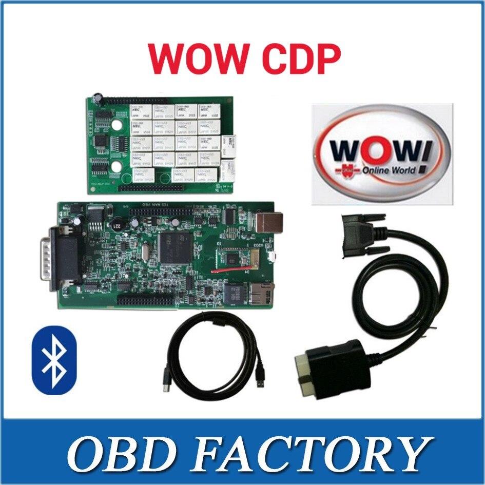 Prix pour AVEC nec relais WOW CDP SNOOPER avec boîte avec Bluetooth et v5.008 R2 beaucoup langue peut choisir vd tcs cdp pro plus