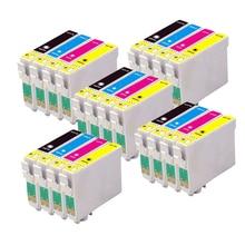 20 Compatible EPSON T1285 Ink cartridge for stylus SX435W SX-435W SX 435W Printer 128XL