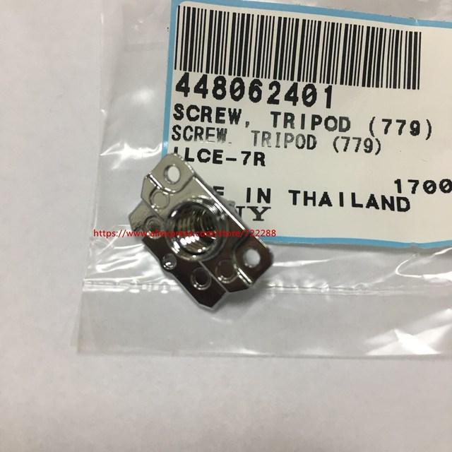 Repair Parts For Sony A7 A7R A7S ILCE 7 ILCE 7R ILCE 7S Bottom Tripod Screw Fixed Base Unit 448062401 New Original