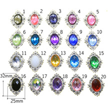 10pcs Rhinestone Buttons Flower Shaped  Sewin cessories  Wedding decoraation/Flatback  for clothing bottons DIY accessories