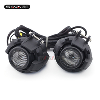 For Kawasaki KLE 650 Versys/KLE 1000 Versys Front Universal Driving Aux Lights Fog Lamp Combination Motorcycle Accessories