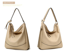 New York fashion brand leather handbag shoulder bag before female angel handle bag large handbag