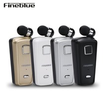 Fineblue F980 Wireless business Bluetooth Headset Sport Driver Auriculares Earphone Telescopic Clip Fone De Ouvido Manos
