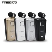 Fineblue F980 Беспроводной бизнес Bluetooth гарнитура Спорт драйвер Auriculares наушники телескопическая клип Fone де Ouvido Манос Libres