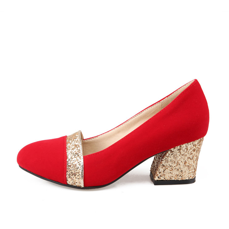 ea4e6eb9b1 Bling Gold Talons rouge D'honneur Lapolaka Femme Pompes 2019 De Chaussures  Mariage Demoiselle Partie Tailles Femmes 32 43 Grandes silver Dropship ...