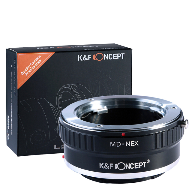 Lens Mount Adapter for Minolta MD Lens to Sony NEX E-Mount Camera for Sony NEX-3 NEX-3C NEX-5 NEX-5C NEX-5N NEX-5R NEX-6