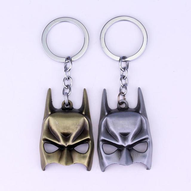 Classics Avengers 4 Iron Man Mask Thor's Hammer Mjolnir Keychain 2