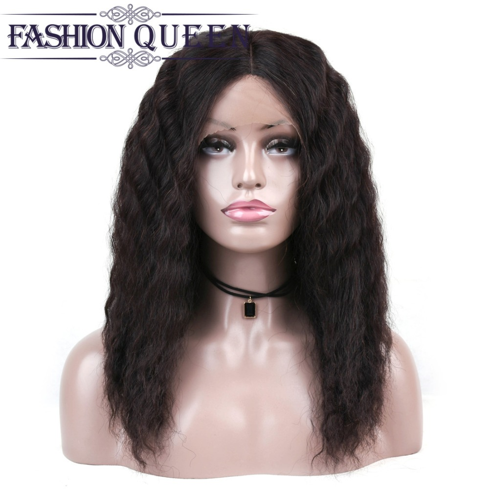 Loose Wave Lace Frontal Wig Pre Plucked Brazilian Lace Front Human Hair Wigs For Black Women