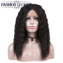 Loose Wave Lace Frontal Wig Pre Plucked Brazilian Lace Front Human Hair Wigs For Black Women Medium Lace Human Wig Remy Hair(China)