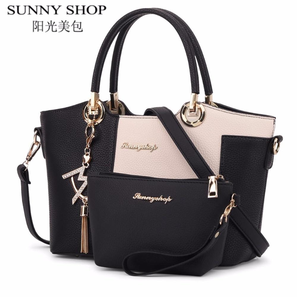 Aliexpress.com : Buy SUNNY SHOP 2017 New Luxury Leather ...