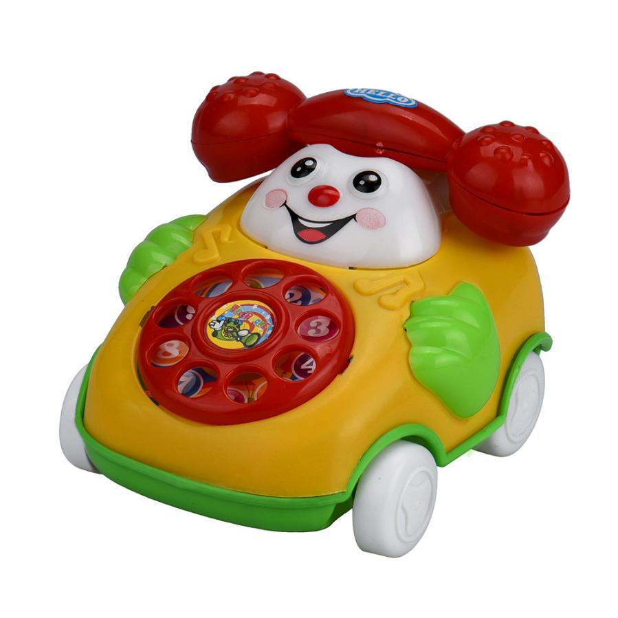 snowshine3 YLW Educational Toys Cartoon Smile Phone Car Developmental Kids Toy Gift Table game