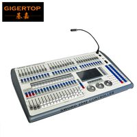 TIPTOP Mini 2048 Scanner Console China Stage Light Controller Manufacturer R20 Pearl Light Library Built In