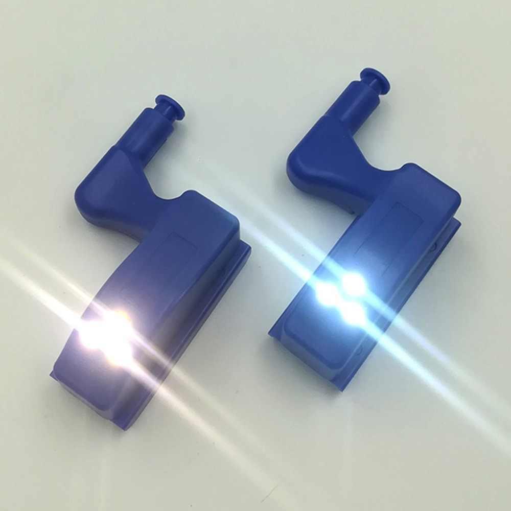 Универсальная внутренняя шарнирная лампа светодиодный датчик света домашняя кухня ночник для шкафа, комода гардеробные шкафчики петли света