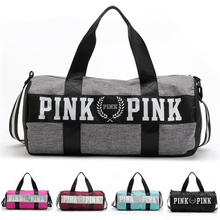 Barrel Travel Sport Fitness Bag For Women Men Athlete Hot Training Female Yoga Duffel Male Large